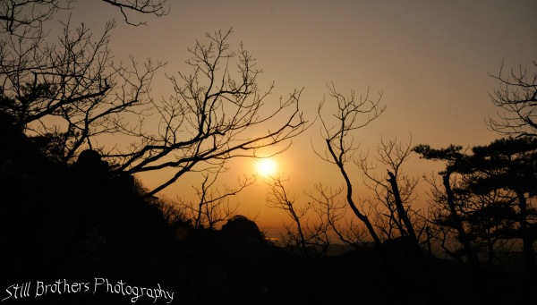 Sunset in Bukansan National Park 3