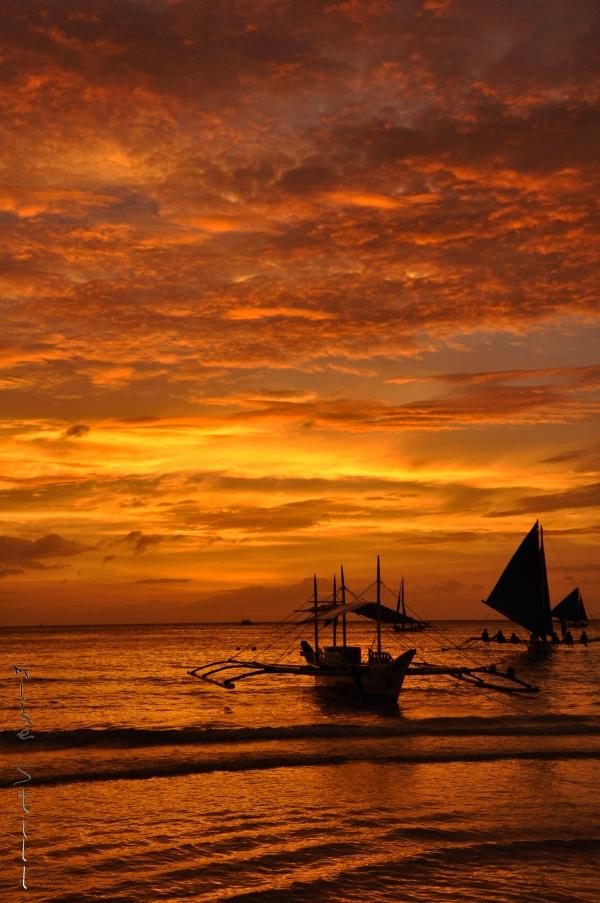 Sunset Boracay, Philippines