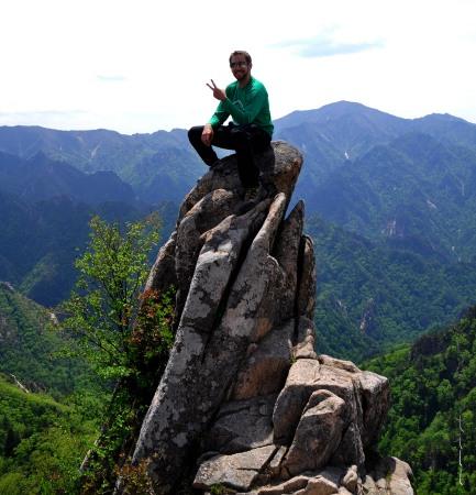 Me on Dinosaur Ridge