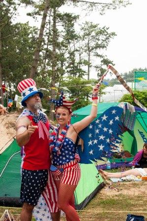 Mr. & Mrs. America!  Happy July 4th!