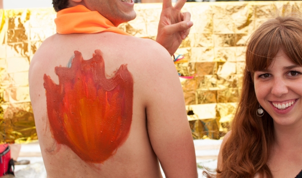 """I want you to paint fire on my back!"" - Me"