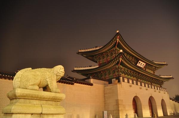 Gyeongbukgung at Night #2