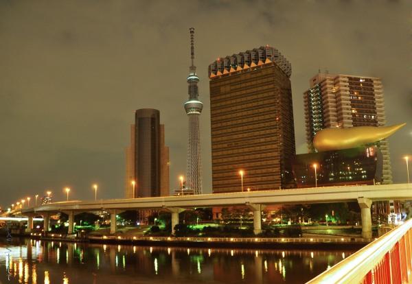 Asahi Brewery, Tokyo Sky Tree
