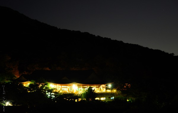 Night view from Bukaksan