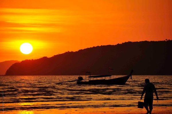 Ao Nang Sunset, Krabi, Thailand