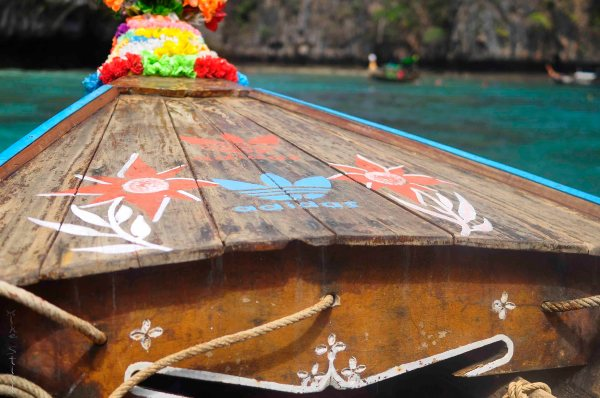Island hopping in Phi Phi Thailand