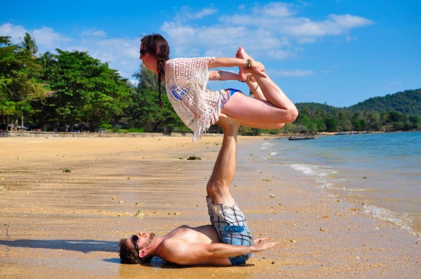 Acroyoga Bow - Krabi, Thailand