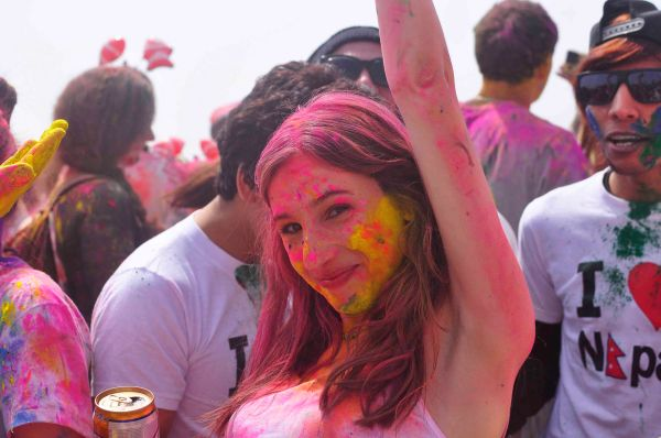 Holi Hai 2015 Busan, South Korea