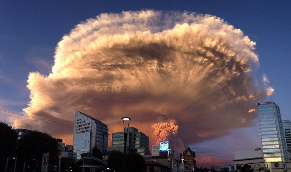 Calbuco Volcano 2 April 2015