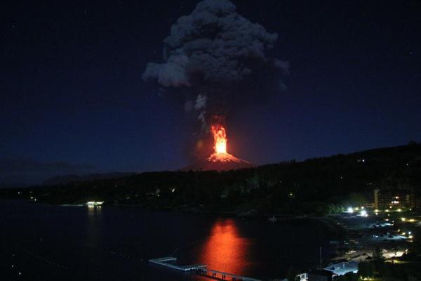 Chile Vilaricano volcano March 2015